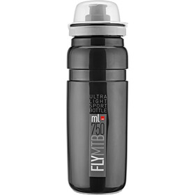 Elite Fly MTB Bidon 750ml, black/grey logo